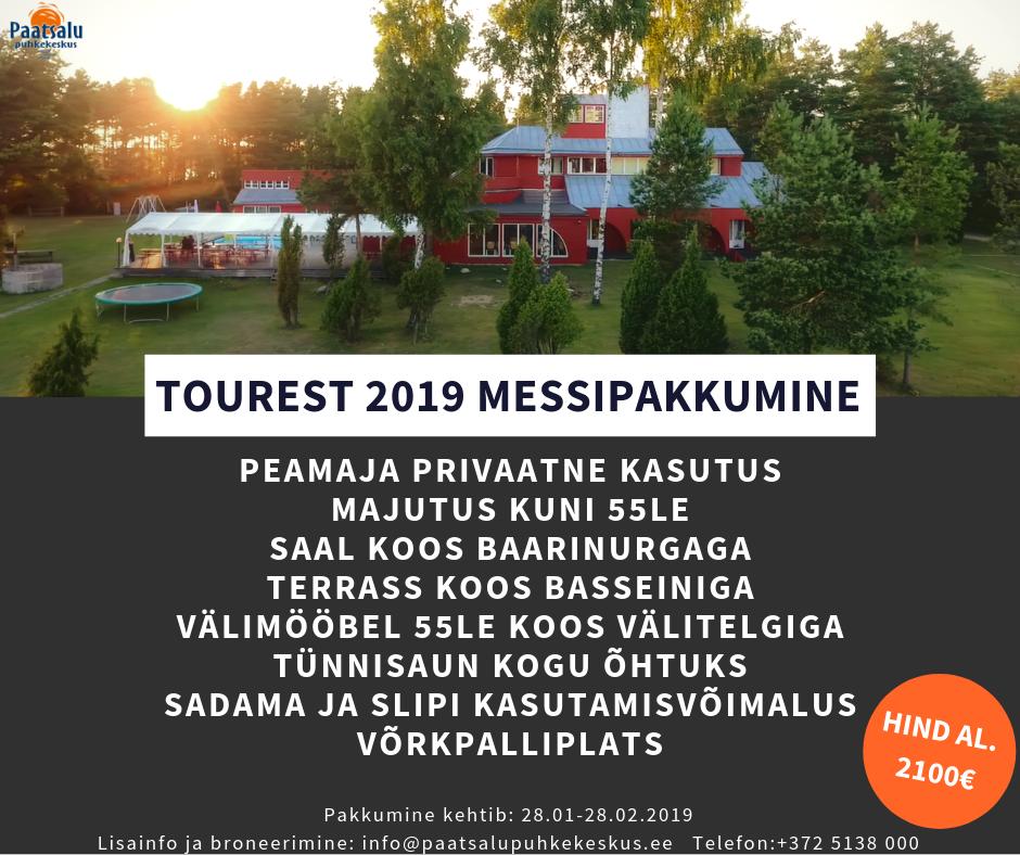 Tourest 2019 messipakkumine!